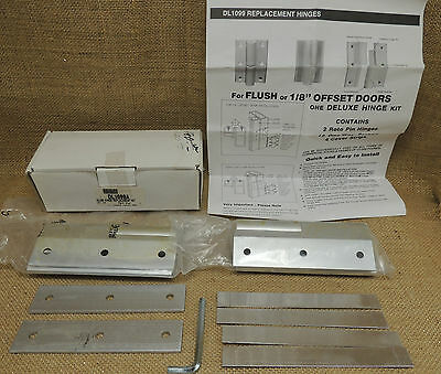 CRL Aluminum Hinge Replacement Kit DL1099A  2 Roto Hinges