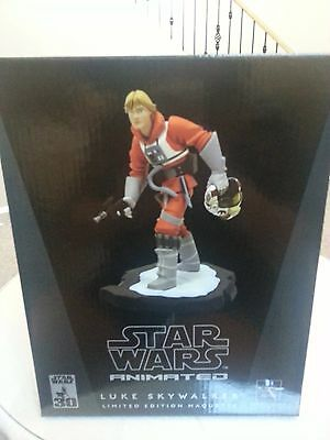 Luke Skywalker Star Wars Animated Gentle Giant Maquette