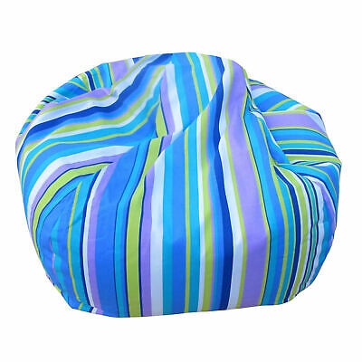 Kids Bean Bag Stripe Childrens Furniture Kids Chair Boys Avalan Kids