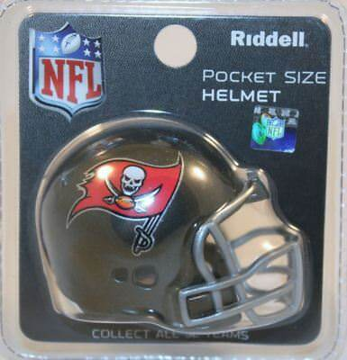 NFL American Football Riddell Pocket Revolution Helmet TAMPA BAY BUCCANEERS