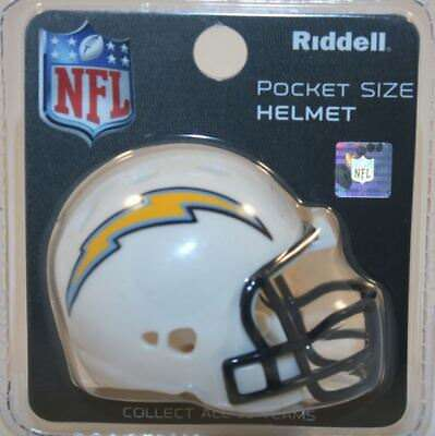 NFL American Football SAN DIEGO CHARGERS Riddell Pocket Revolution Helmet