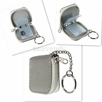 Practical Mini Carrying Case Holder Bag for 6 Memory Card XD SD Card Wallet