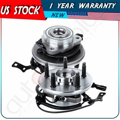 Pair Of 2  Front Wheel Hub & Bearing NEW for Explorer Mountaineer 5 Lug