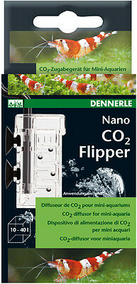 Dennerle Nano CO2 Flipper - CO2 Diffuser - Especially for Small Fish Tanks