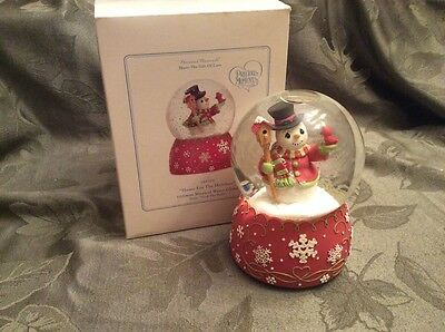 Precious Moments Home For The Holidays Waterball 101105