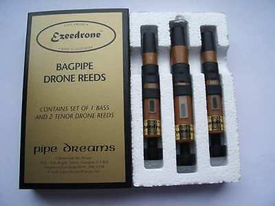 Bagpipes: Ezeedrone Highland Bagpipe Drone Reeds