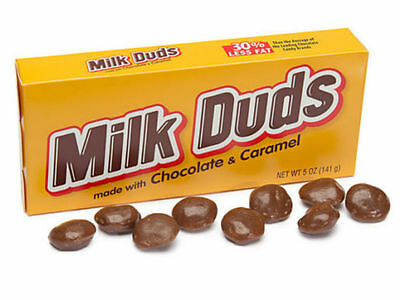 Milk Duds Kids Favorite Tasty Candy - Brand New US Version 1 x Theatre Size Box