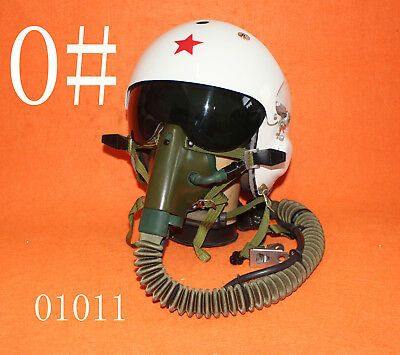 MIG-29 Flight Helmet Air Force  Pilot Helmet  SIZE: 0# XXL  OXYGEN MASK LARGEST