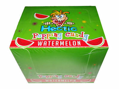 Hectic Popping Candy - Watermelon flavor - 2 x 10g Packets