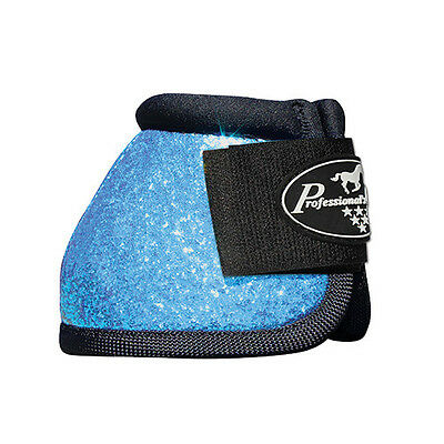 Professionals Choice Overreach Bell Boots Glitter Pacific Blue Large