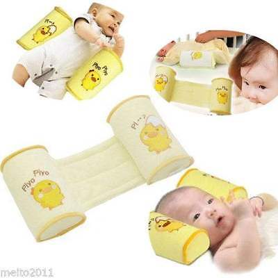 Baby Pillow Infant Newborn Sleep Positioner Shape Anti Roll Pillow Safety Crib