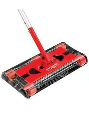Swivel Cordless Floor and Carpet Sweeper NEW FREE SHIPPING