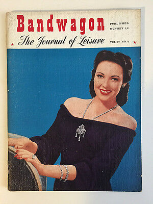 Band Wagon April 1950 -  The Journal of Leisure Monthly Publication
