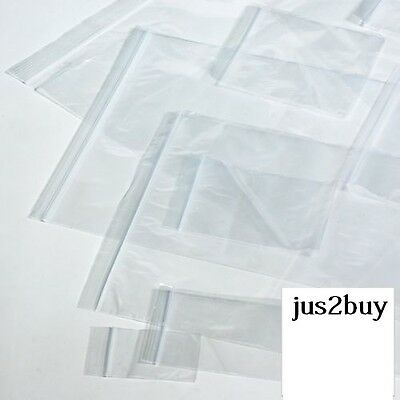 Resealable Grip Seal Bags Self Resealable Grip Poly Plastic Clear Bags - BARGAIN