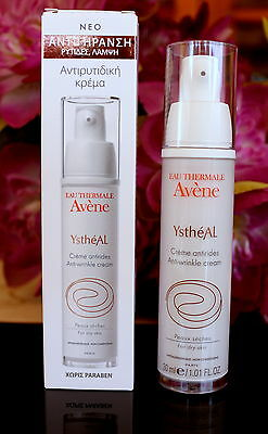 Avene Ystheal Anti-Wrinkle  cream 30ml .Dry skin. 2017-01