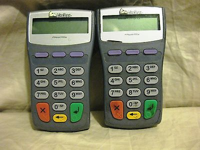Set of 2 Verifone PINpad Pin Model 1000SE For Credit Card Terminal Machine