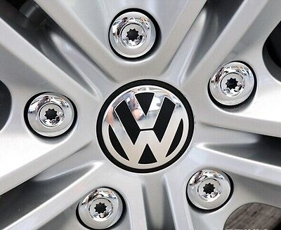 4x VOLKSWAGEN ALLOY WHEEL BADGES CENTER HUB CAPS 70mm VW Touareg T4 T5 Passat UK