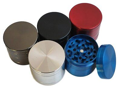 Nice 4 Layers Metal Tobacco Crusher Hand Muller Smoke Herbal Herb Grinder Mini