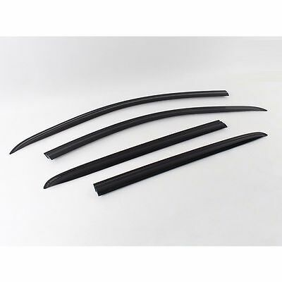 SMOKED DOOR SIDE WINDOW SUN VISOR VENT GUARDS RAIN for All New Spark 2016