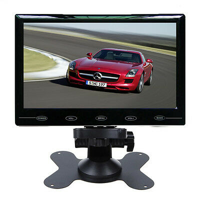 HD 7 Inch Ultra Thin 800*480 TFT LCD Color 2-CH Input Car Rear View Monitor