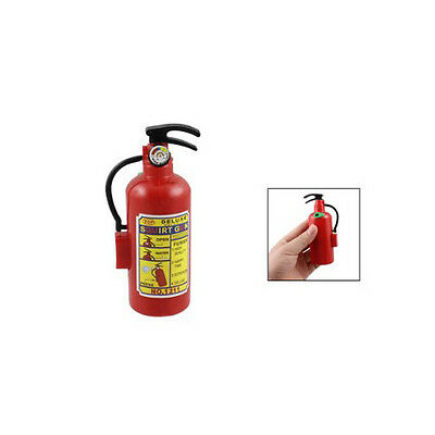 Practical Children Red Plastic Fire Extinguisher Shaped Squirt Water Gun Toy BF