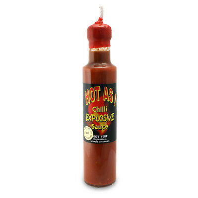NEW Wild Appetite Hot As Chilli Explosive Sauce 250ml