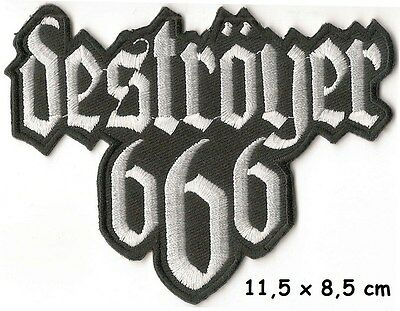 DESTROYER 666 - LOGO patch - FREE SHIPPING