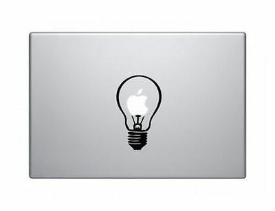 "Idea Bulb Apple Macbook Air/Pro/Retina 13/15/17"" Vinyl Sticker Skin Decal Cover"