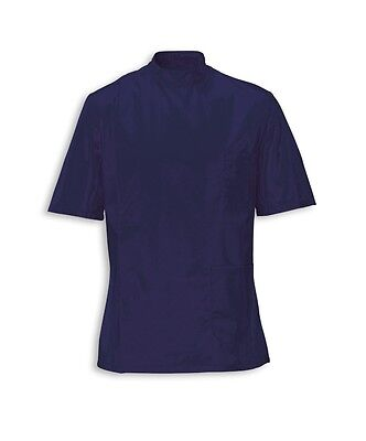 Mens Healthcare Tunic Male Nurse Nhs Hospital Dentist Vet Uniform. Navy Ins35Nv