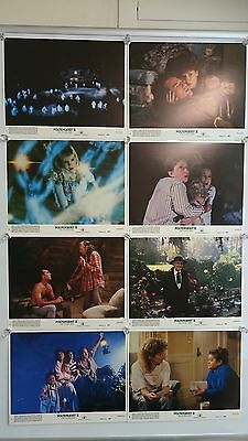 Poltergeist 2 II 1986 Lobby Card Front Of House Cards Full Set of 8 Very Rare