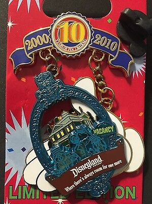 Disneyland 10th Tribute Collection - Pinbassador 2007 Haunted Manasion LE 1000
