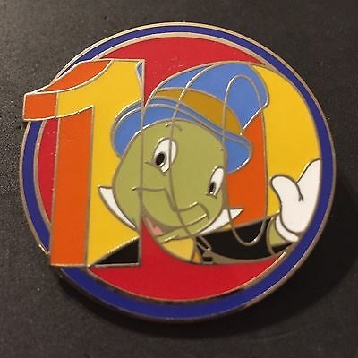 Disney 10 Years of Pin Trading - Mystery Series - Jiminy Cricket LIMITED RELEASE