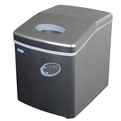 NewAir AI-100S 28-Pound Portable Ice Maker in Silver