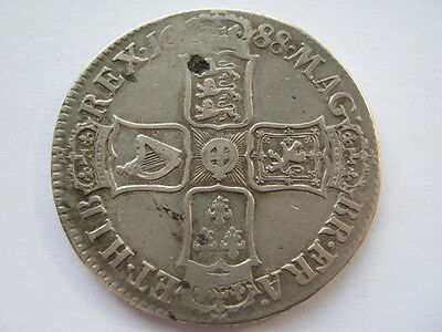 1688 James II Crown GF ESC 80 ACS