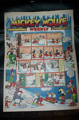 1936 DISNEY SERIES ORIGINAL MICKEY MOUSE PLATINUM COMIC Vol 3 FEB 26th 1938 108