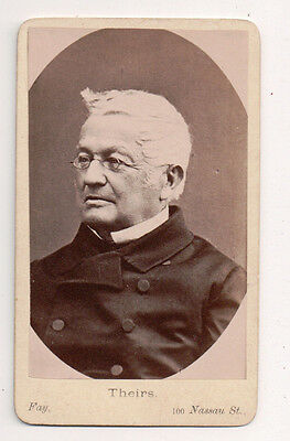Vintage CDV Adolphe Thiers first President of the French Third Republic.
