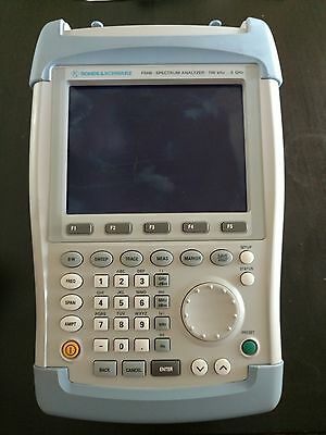 Rohde & Schwarz Spectrum Analyzer Model FSH6 100kHz-6GHz