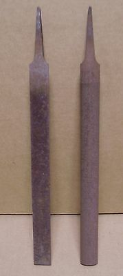 (lot of 2) 8 inch Files Half Round Smooth Nicholson 04960 Made in Brazil