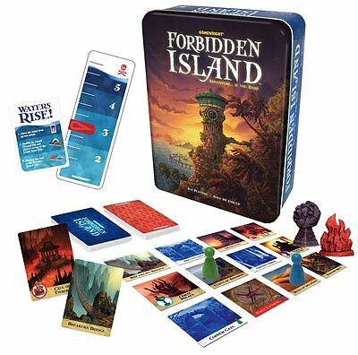Forbidden Island: Adventure if you Dare... cooperative board game by Gamewright