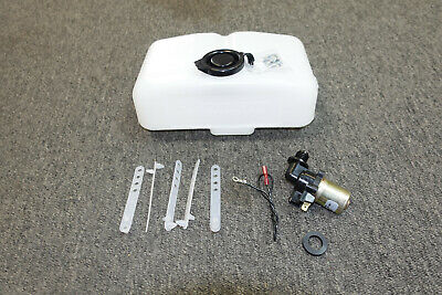 Mopar 68 69 70 B-Body Charger / GTX Windshield Washer Bottle With Pump NEW