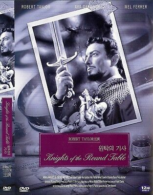 Knights of the Round Table (1953) Robert Taylor / Ava Gardner DVD NEW *FAST SH..