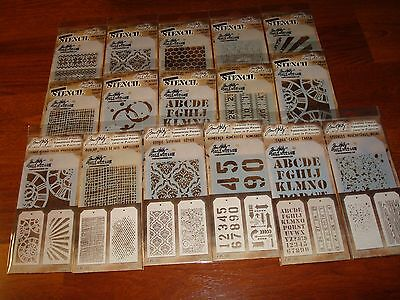 Tim Holtz Layering Stencil - LOT-YOU PICK