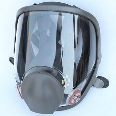 One Pc Gas Mask Full Face Facepiece Respirator Painting Spraying