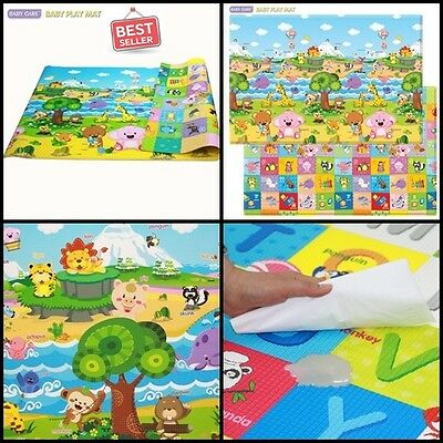 Baby Care Mats Rugs Play Large Pingko Decor Nursery Floor Number Animal Gift New