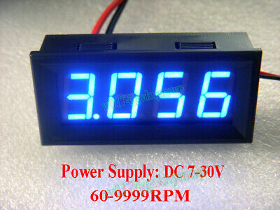 "0.56"" LED Display Digital Motor Tachometer Speed Measure Meter Panel 60-9999RPM"