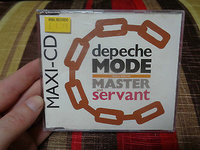 DEPECHE MODE_Master & Servant slavery whip mix_used CD-s_ships from AUS!__L2