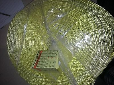 """New Yellow Synthetic Web sling safety Bulletin 3"""" x 118' 6"""" universal lifting"""