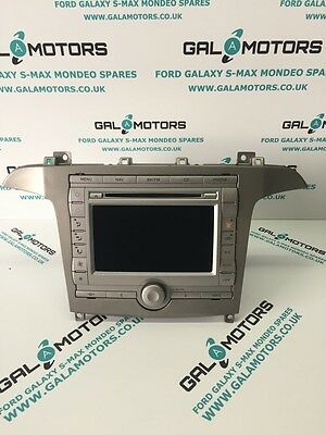 Ford Galaxy Mk3 2006-2010 Radio Sat Nav With Climate Control   Eo56