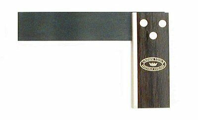 Crown 126 9-Inch Try Square, Rosewood, New, Free Shipping