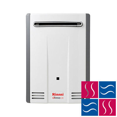 Rinnai Infinity 26 NATURAL GAS Water Heater (50° Preset) - Cass Brothers